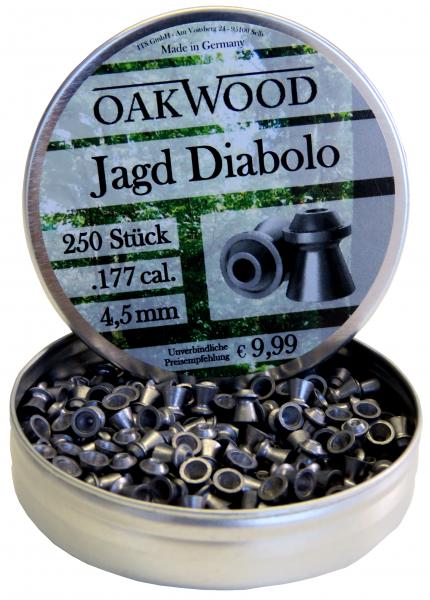 OAKWOOD Diabolos Jagd Hohlspitz 4,5 mm