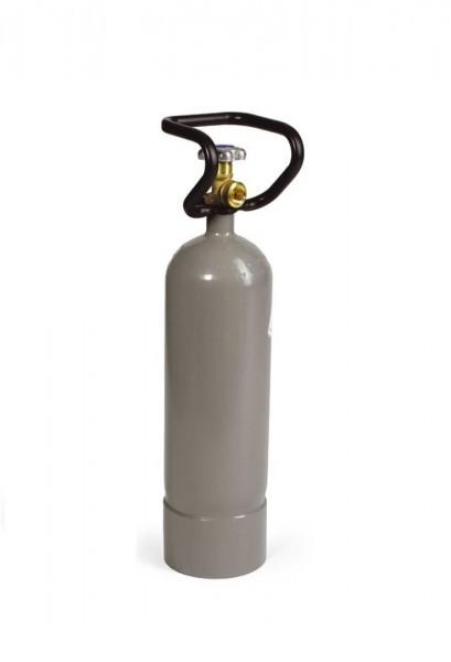 Gehmann Pressluftflasche 5 Liter für 200 bar mit Fuß und Tragegriff