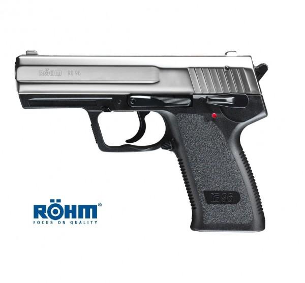 Röhm RG 96 Schreckschusspistole Alu Chrome