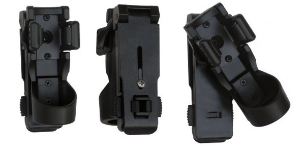 ESP LHU-14 / 37mm Universelles drehbares Kunststoffholster Taschenlampen
