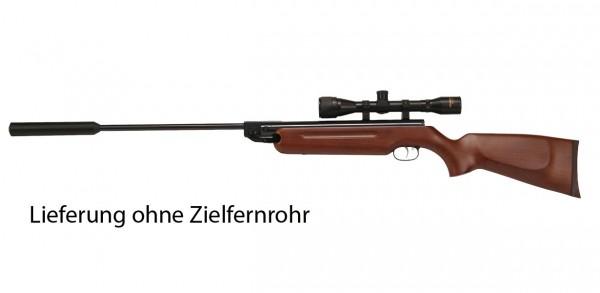 Weihrauch HW 35K Luftgewehr mit Schalldämpfer Kal. 4,5 mm