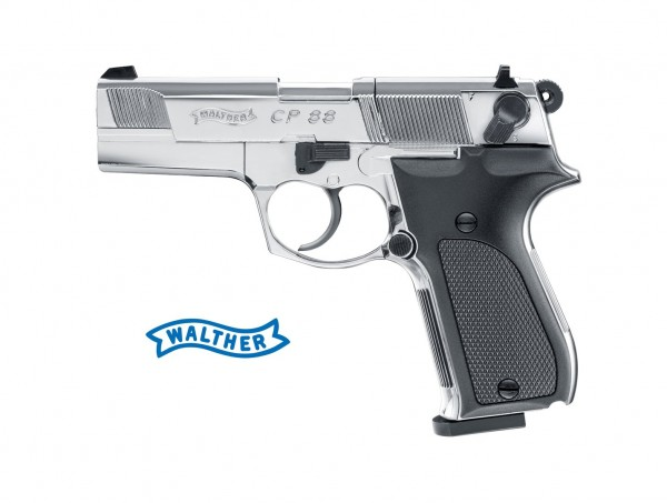 Walther CP88 Polished Chrome CO2-Pistole