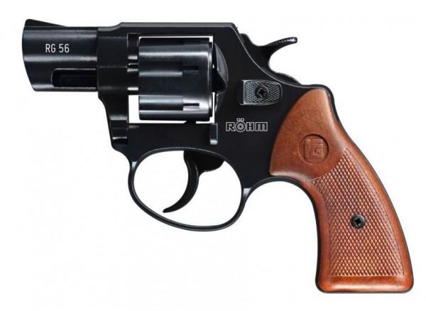Röhm RG 56 Schreckschuss Revolver 6 mm Flobert Brüniert