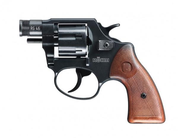 Röhm RG46 Schreckschussrevolver Brüniert 6 mm Flobert