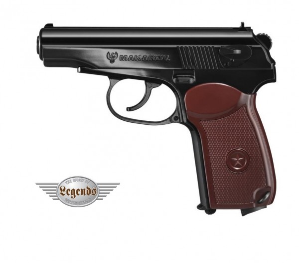Legends Makarov cal. 4,5 mm CO2 Pistole