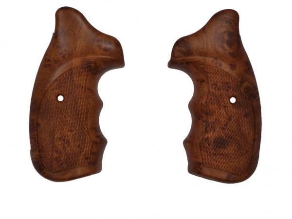 Combat Griffschalen für Zoraki R1 und R2 Schreckschuss Revolver Holzoptik