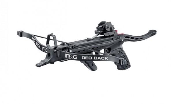 NXG Pistolenarmbrust Redback RTS Schwarz 80 lbs/ 235 fps