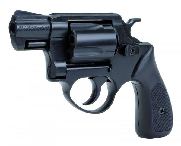 ME 38 Pocket Brüniert Schreckschussrevolver