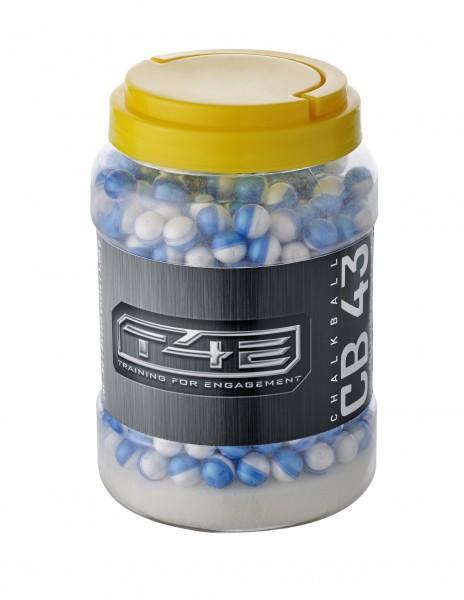 T4E CB .43 Chalkballs Weiß