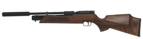 Weihrauch HW 100 SK Pressluftgewehr 5,5 mm Schalldämpfer