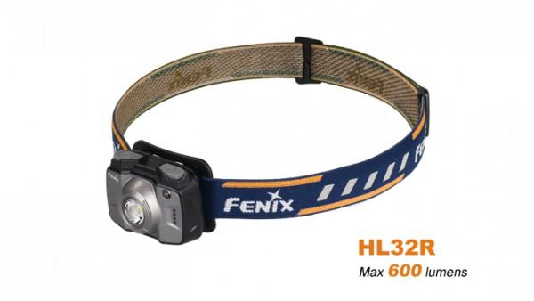 Fenix HL32R LED Stirnlampe Grau