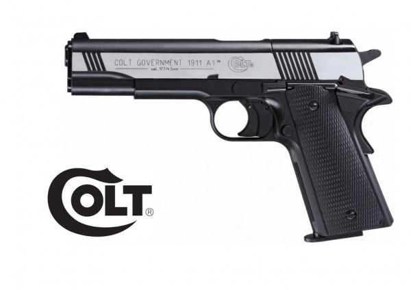 Colt Government 1911 A1 Brüniert Dark Ops Finish CO-2 Pistole