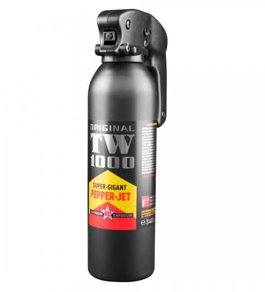 Pfefferspray TW1000 Pepper-Jet Super-Gigant ( Jet-Strahl ) 400 ml