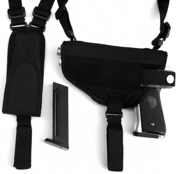 Schulterholster mit Magazintasche