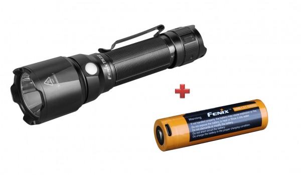 Fenix TK22 V2.0 LED Taschenlampe + Fenix ARB-L21-5000U LiIon Akku