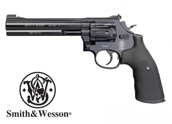 """Smith & Wesson Mod. 586-6"""" cal. 4,5 mm (.177) Diabolo - Schwarz"""