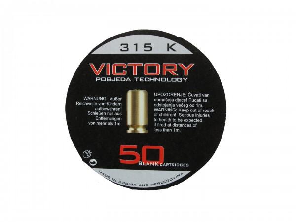 Victory Platzpatronen / Knallpatronen .315 K